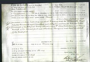 Deed by Married Women - Eleanor Nicholson-Original Ancestry