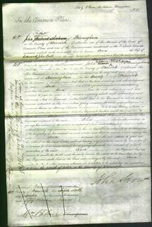 Court of Common Pleas - Ann Ball-Original Ancestry