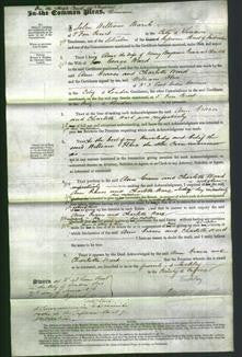 Court of Common Pleas - Ann Graves and Charlotte Ward-Original Ancestry