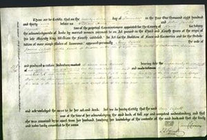 Deed by Married Women - Amy Cassell-Original Ancestry