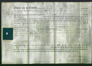 Deed by Married Women - Maria Mill-Original Ancestry