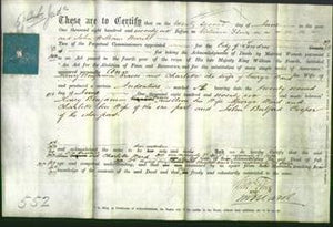 Deed by Married Women - Ann Graves and Charlotte Ward-Original Ancestry