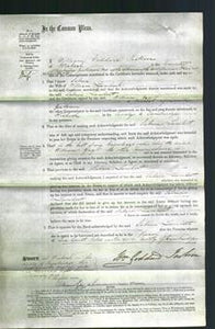 Court of Common Pleas - Sabrin Lambert-Original Ancestry