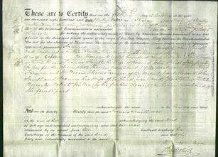 Deed by Married Women - Frances Smith-Original Ancestry