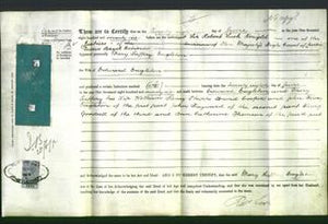 Deed by Married Women - Mary Saffery Eagleton-Original Ancestry