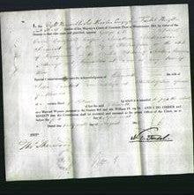 Appointment of Special Commisioners - George M Stroud, Colin Campbell Cooper and Jonathan Dickinson Sergeant-Original Ancestry