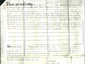 Deed by Married Women - Caroline Weaver-Original Ancestry