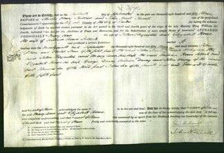 Deed by Married Women - Mary Ann Reynolds and Elizabeth Rowe Selleck-Original Ancestry