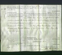 Deed by Married Women - Frances Simpson-Original Ancestry