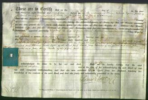 Deed by Married Women - Elizabeth Mallen-Original Ancestry