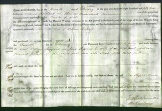 Deed by Married Women - Jane Sheppard-Original Ancestry