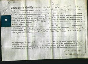 Deed by Married Women - Amelia Foster-Original Ancestry