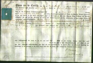 Deed by Married Women - Emma James-Original Ancestry