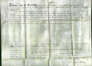 Deed by Married Women - Frances Sarah Ward-Original Ancestry