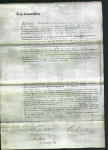 Court of Common Pleas - Esther Maria Twentyman-Original Ancestry