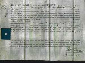 Deed by Married Women - Eleanor Johnson-Original Ancestry