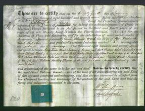 Deed by Married Women - Sarah Belinda Ward Farbrother-Original Ancestry