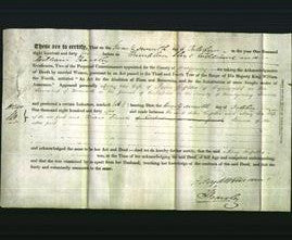 Deed by Married Women - Mary Griffiths-Original Ancestry