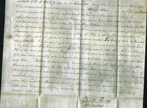 Deed by Married Women - Mary Evans and Ann Hill-Original Ancestry