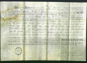 Deed by Married Women - Mary Ann Vaughan and Sarah Dudley-Original Ancestry