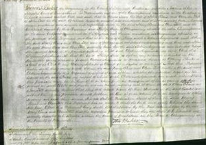 Court of Common Pleas - Mary Evans and Ann Hill-Original Ancestry