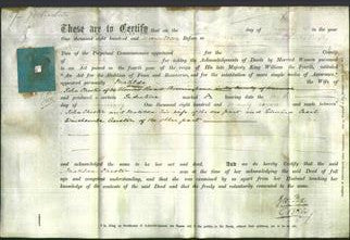 Deed by Married Women - Matilda Chester-Original Ancestry