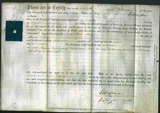 Deed by Married Women - Sarah Ann Mary Gregory-Original Ancestry