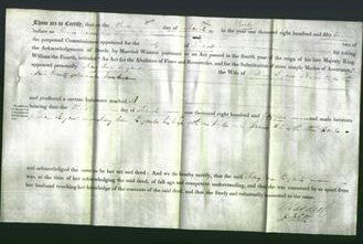 Deed by Married Women - Mary Ann Bryant-Original Ancestry