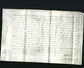 Deed by Married Women - Sarah Perriam-Original Ancestry