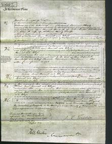 Court of Common Pleas - Ann Harriet Challoner and Eliza Scaife-Original Ancestry