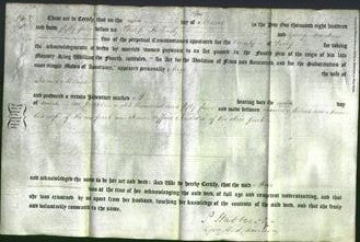Deed by Married Women - Anne Milnes-Original Ancestry