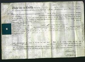 Deed by Married Women - Ann Maton-Original Ancestry