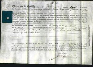 Deed by Married Women - Mary Tebbs-Original Ancestry