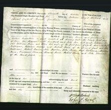 Deed by Married Women - Ellen Jones-Original Ancestry
