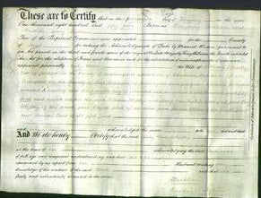 Deed by Married Women - Mary Ann Blessley-Original Ancestry
