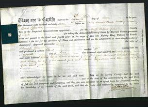 Deed by Married Women - Betsey Purnell-Original Ancestry