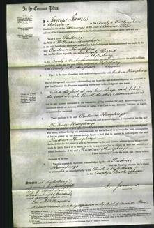 Court of Common Pleas - Prudence Humphreys-Original Ancestry