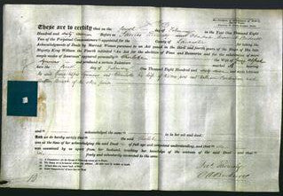 Deed by Married Women - Charlotte Symmons-Original Ancestry