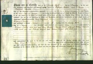 Deed by Married Women - Mary Elizabeth Tennison-Original Ancestry