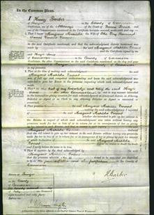 Court of Common Pleas - Margaret Matilda Vincent-Original Ancestry