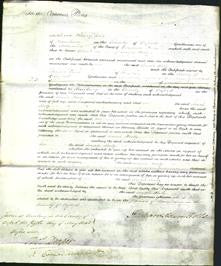 Court of Common Pleas - Sarah Kirby-Original Ancestry