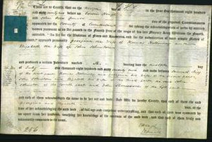 Deed by Married Women - Georgina Holloway and Elizabeth Johnston-Original Ancestry