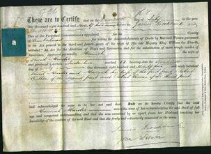 Deed by Married Women - Hannah Hardie-Original Ancestry