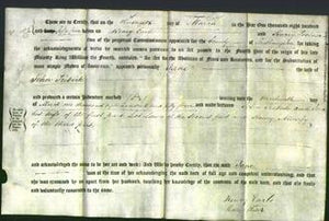 Deed by Married Women - Jane Tribute-Original Ancestry