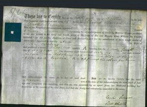 Deed by Married Women - Ann Patching-Original Ancestry