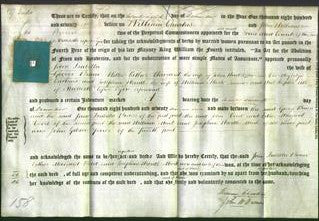 Deed by Married Women - Jane Isabella Brown, Esther Margaret Hood and Josephine Wardle Mark-Original Ancestry