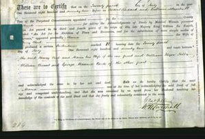 Deed by Married Women - Maria Reed-Original Ancestry