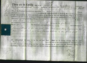 Deed by Married Women - Mary Emmerson Thorp-Original Ancestry