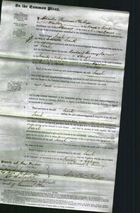 Court of Common Pleas - Sarah Smith-Original Ancestry