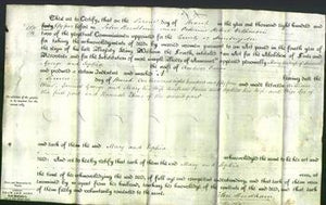 Deed by Married Women - Mary George and Sophia Farrer-Original Ancestry